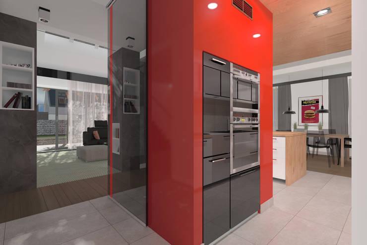 Dom Passive_Nord: styl , w kategorii Kuchnia zaprojektowany przez ABC Pracownia Projektowa Bożena Nosiła