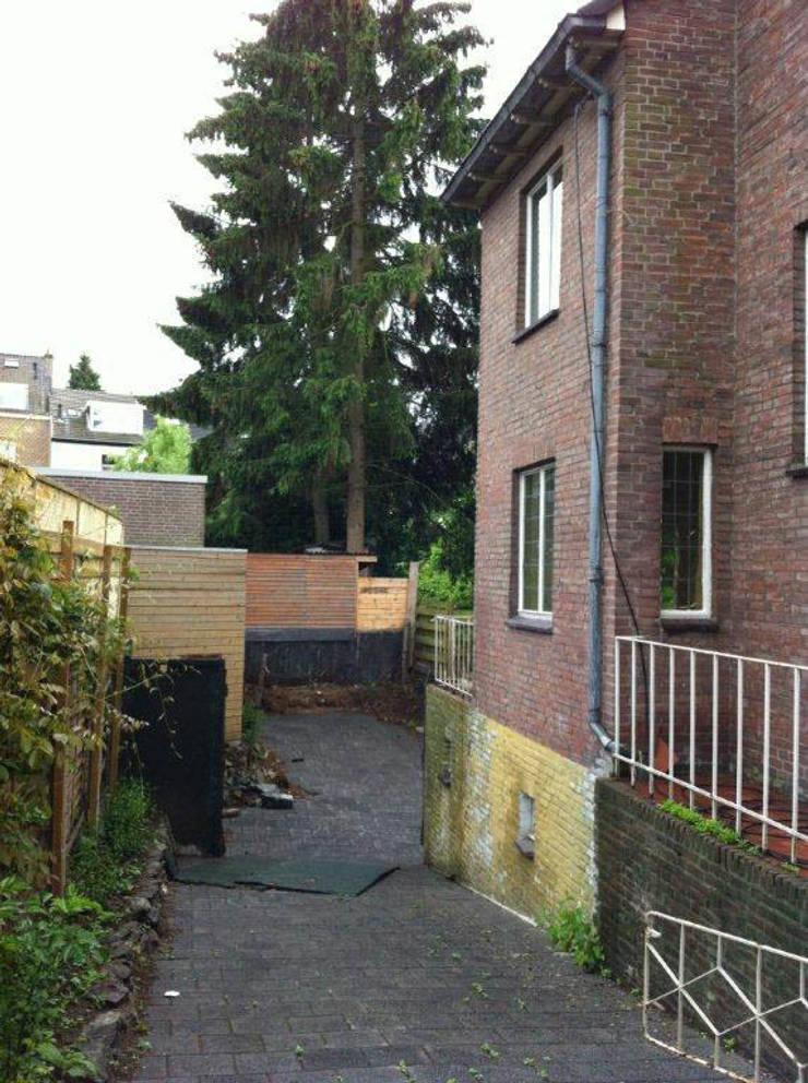 Uitbreiding Woonhuis Maastricht:   door Architectenbureau beckers