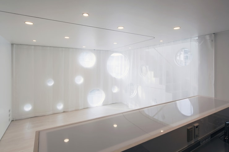 SHABON: 株式会社カワイ設計工房が手掛けたリビングです。,モダン