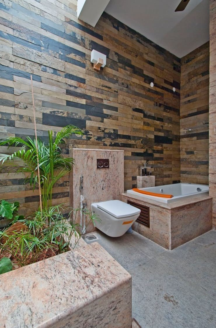 Bathroom by Muraliarchitects, Modern