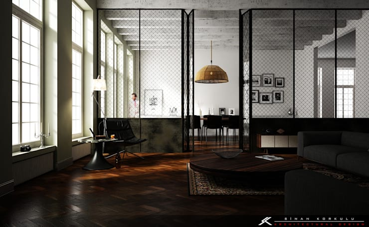 Woonkamer door SK ARCHITECTURAL VISUALIZATION