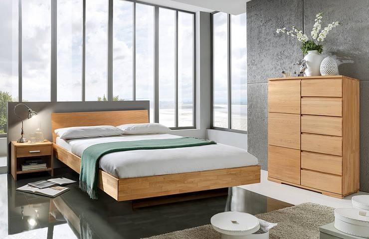 "Doppelbett ""Delicia"": moderne Schlafzimmer von Allnatura"