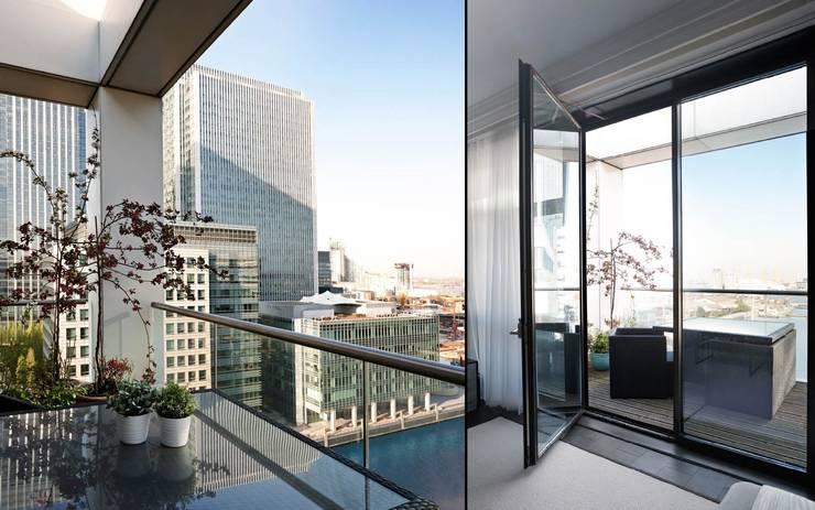 Projekty,  Balkon, weranda i taras zaprojektowane przez Boscolo