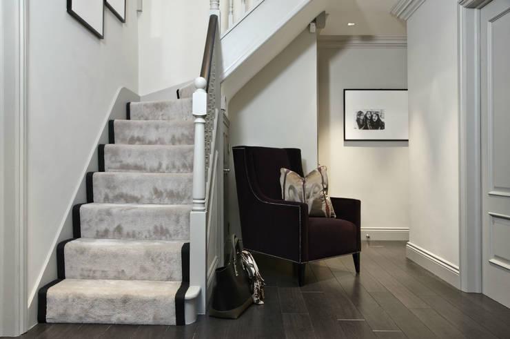 Projekty,  Korytarz, hol i schody zaprojektowane przez Boscolo