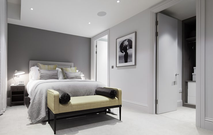 Bedroom by The Manser Practice Architects + Designers