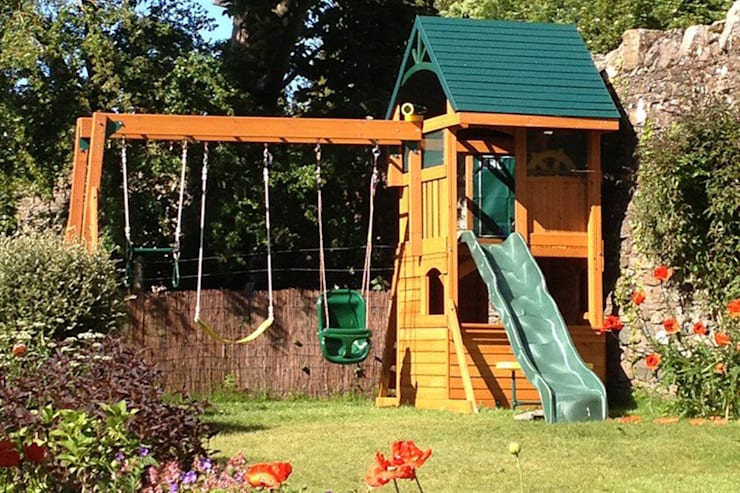 Garden  by Climbing Frames UK