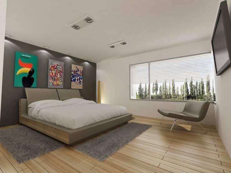 Bedroom by Chazarreta-Tohus-Almendra