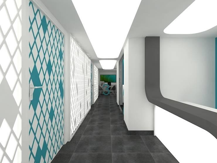 Pıcco Desıgn & Archıtecture – ATİLLA SAYGIN DİŞ POLİKLİNİĞİ NAZİLLİ:  tarz Klinikler