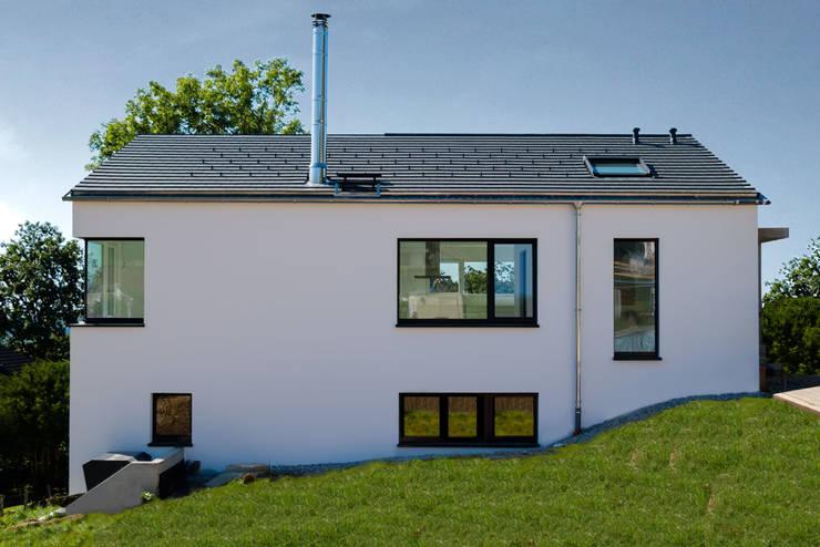 Дома в . Автор – architekturlabor