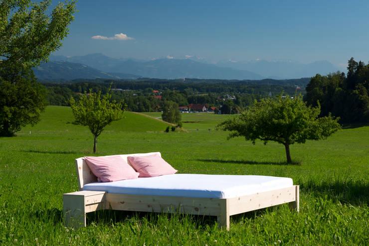 Anbauteile für Ihr Bett: modern  von Schreinerei Haas Mathias,Modern