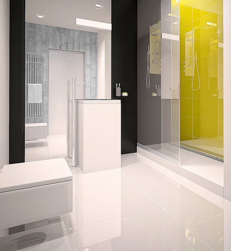 Квартир в ЖК Астон Плаза. Екатеринбург: Ванные комнаты в . Автор – Dmitriy Khanin