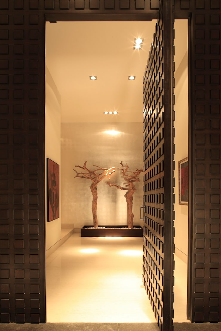 Casa CG Puertas y ventanas modernas de GLR Arquitectos Moderno