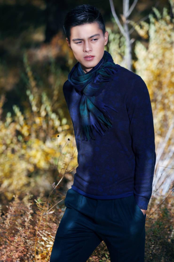 Baroque Style cashmere:   door Dulaan Cashmere, Klassiek