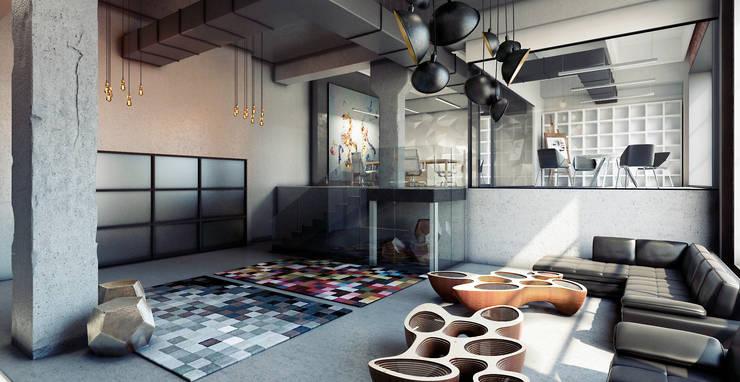 Офис продаж \ Шоурум : Офисные помещения в . Автор – AFTER SPACE