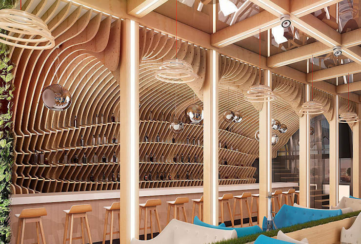 Лаунж бар Dome: Бары и клубы в . Автор – AFTER SPACE