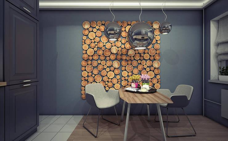 Квартира в Медведково: Кухни в . Автор – AFTER SPACE