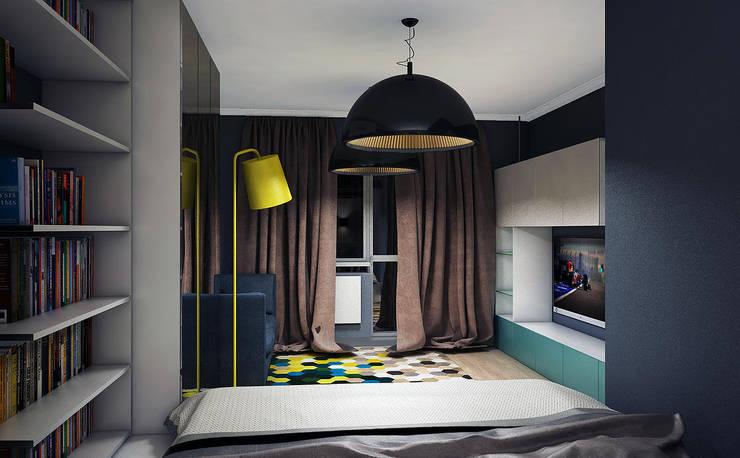 Квартира в Медведково: Спальни в . Автор – AFTER SPACE