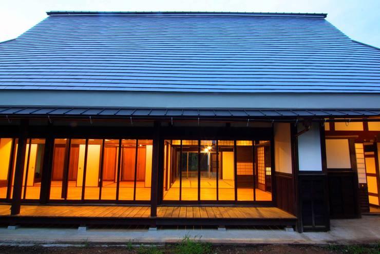 改修後の外観: 石井建築設計事務所が手掛けたです。