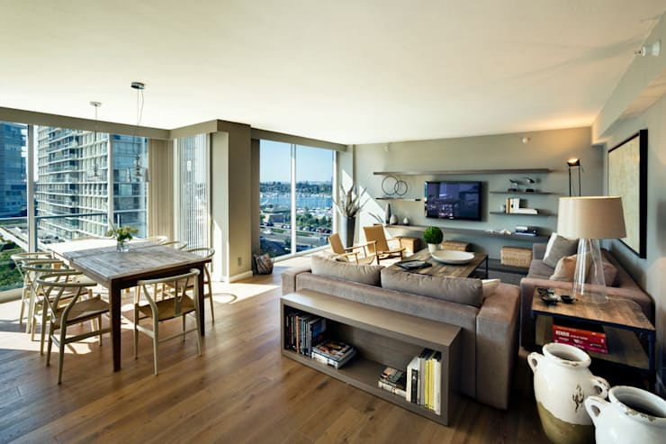 Living room by Weber Arquitectos,