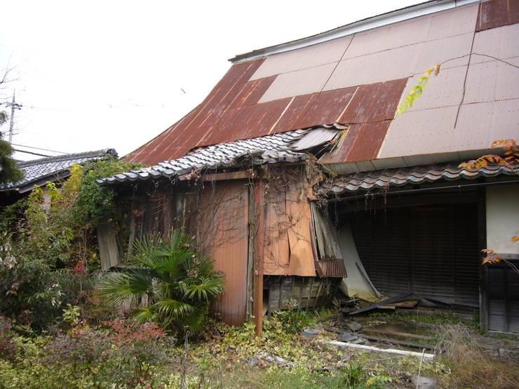 改修前の外観: 石井建築設計事務所が手掛けたです。