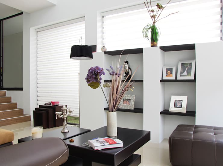Vista Interior: Salas de estilo  por Estudio Meraki