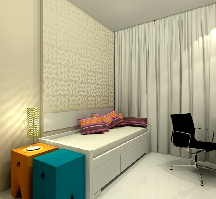 Konverto Interiores + Arquitetura의  침실