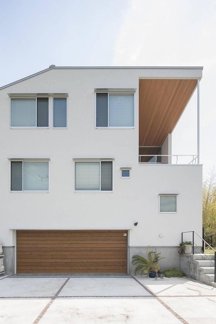 Moby Dick: 平林繁・環境建築研究所が手掛けた家です。,モダン