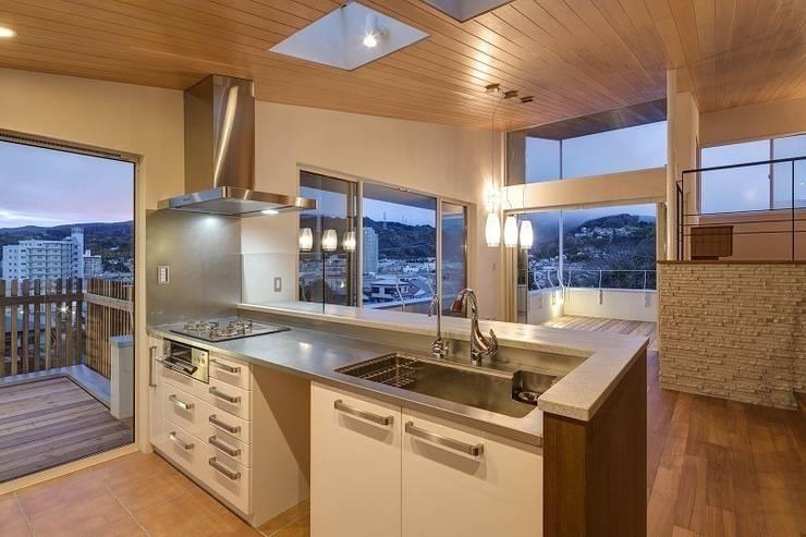 Moby Dick: 平林繁・環境建築研究所が手掛けたキッチンです。