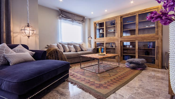 Salas / recibidores de estilo  por Apersonal