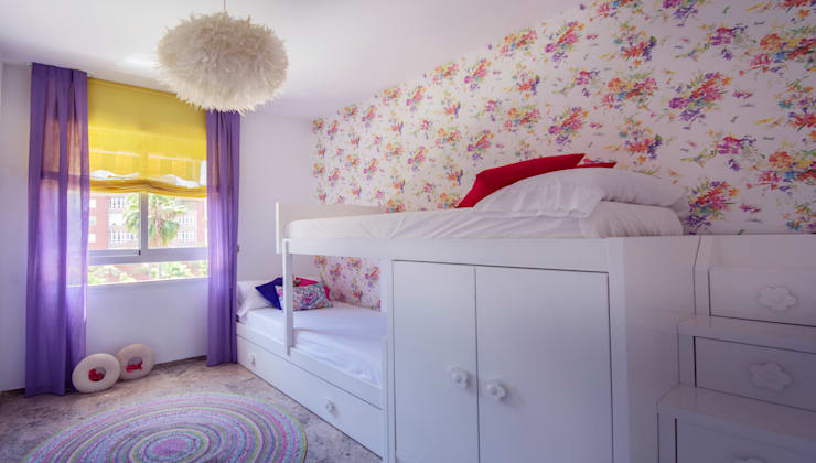 Dormitorio bien aprovechado: Dormitorios infantiles de estilo  de Apersonal