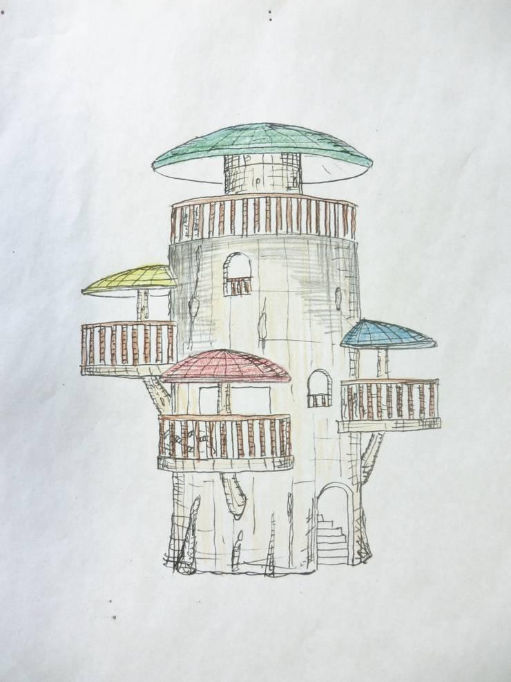 巨木の隠れ家: (株)スペースデザイン設計(一級建築士事務所)が手掛けたです。
