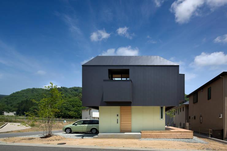moderne Häuser von 安部秀司建築設計事務所