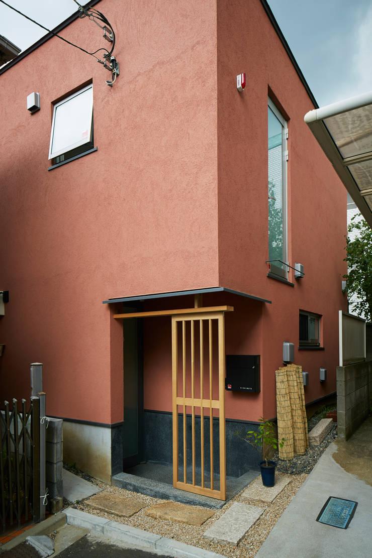 外観: 株式会社吉川の鯰が手掛けた家です。
