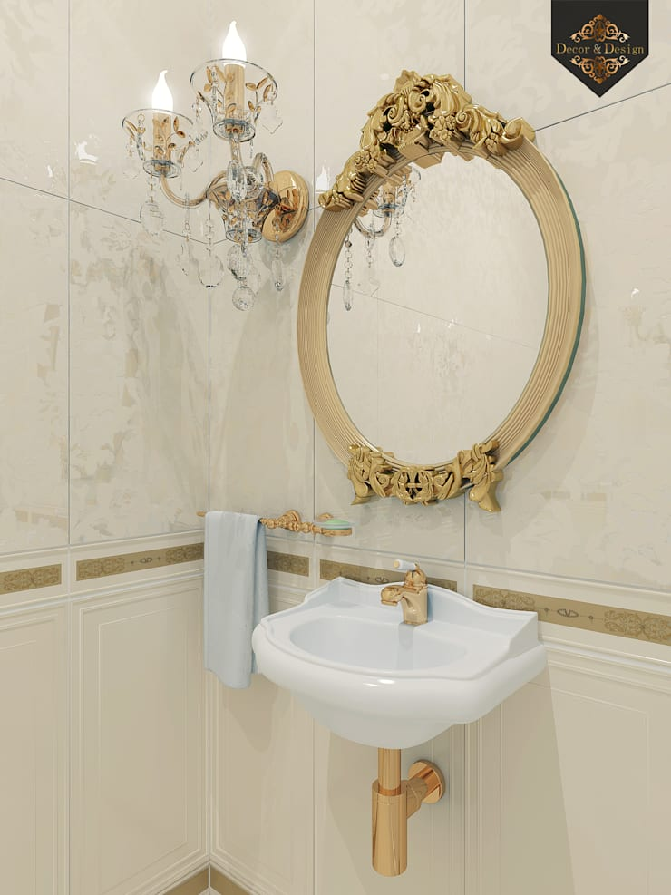Bathroom by Decor&Design, Classic