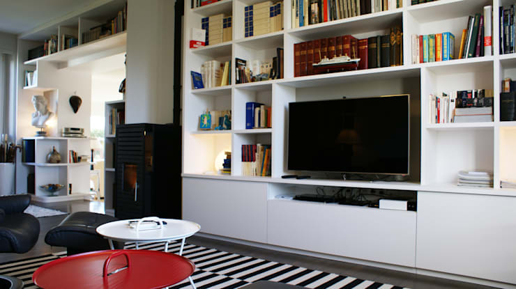 Living room by Agence C+design - Claire Bausmayer, Modern