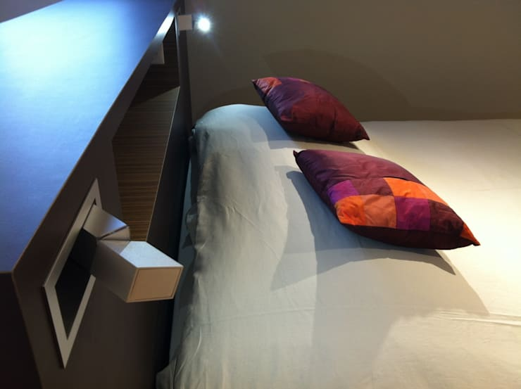 Camera da letto in stile  di Agence C+design - Claire Bausmayer