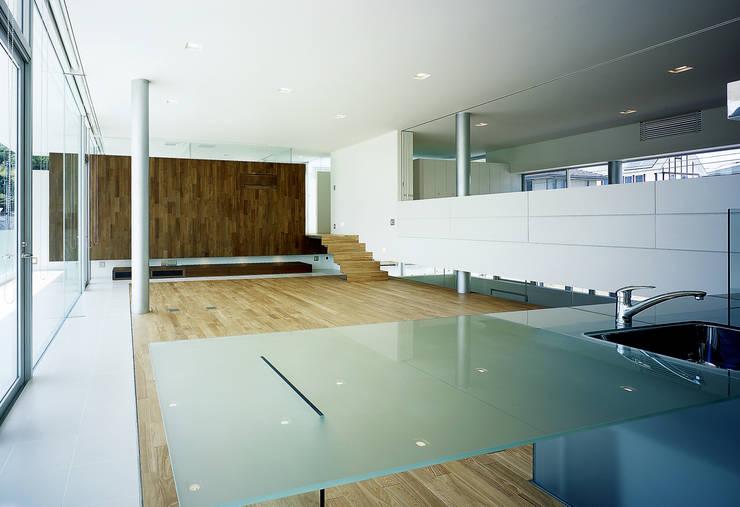 Dining room by アトリエ環 建築設計事務所, Modern