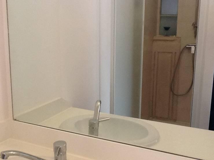 Salle d'eau: Salle de bains de style  par POSITIV'AGENCEMENT