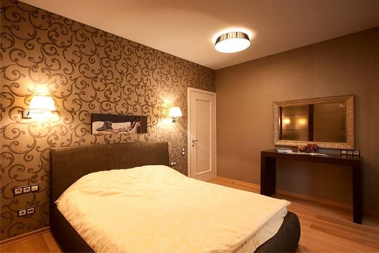 Спальня.:  в . Автор – Студия дизайна Ирины Комиссаровой