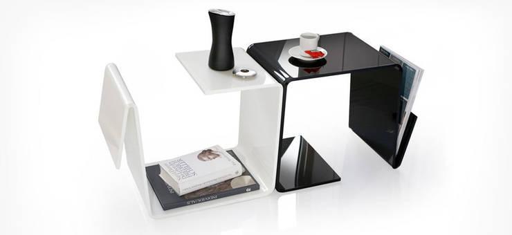 Soggiorno in stile  di produktsalon // Susanne Uerlings Produktdesign