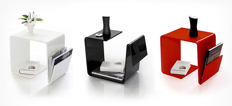 Livings de estilo  por produktsalon // Susanne Uerlings Produktdesign