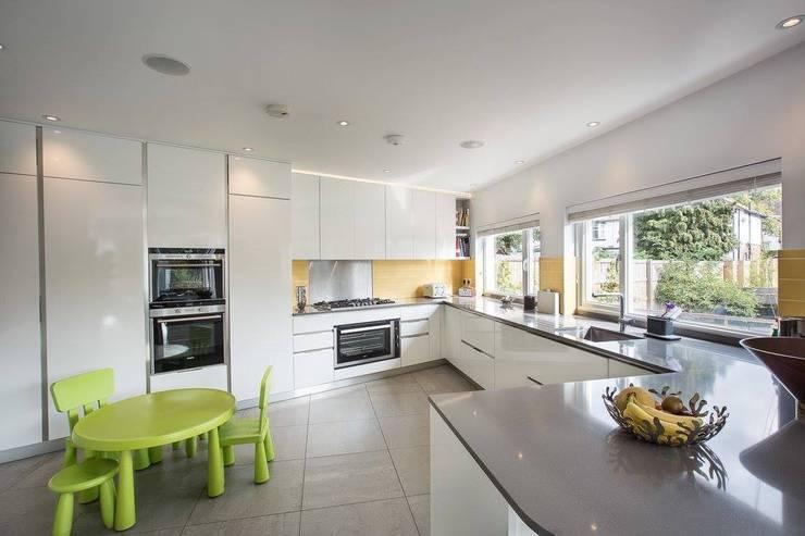 Projekty,  Kuchnia zaprojektowane przez XUL Architecture