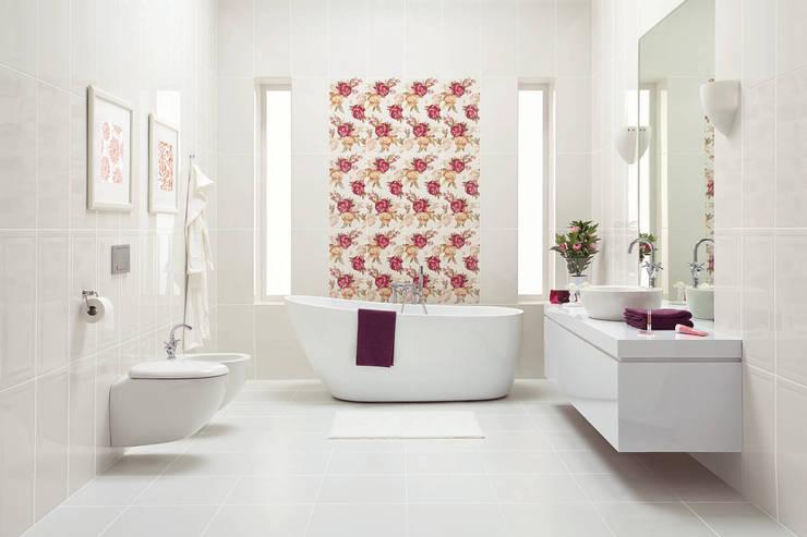 Ceramika Paradyż: modern tarz Banyo