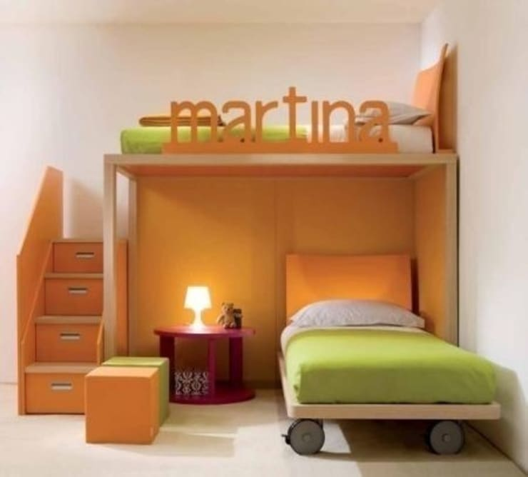 Quarto de crianças  por Capital Bedrooms and Kitchens
