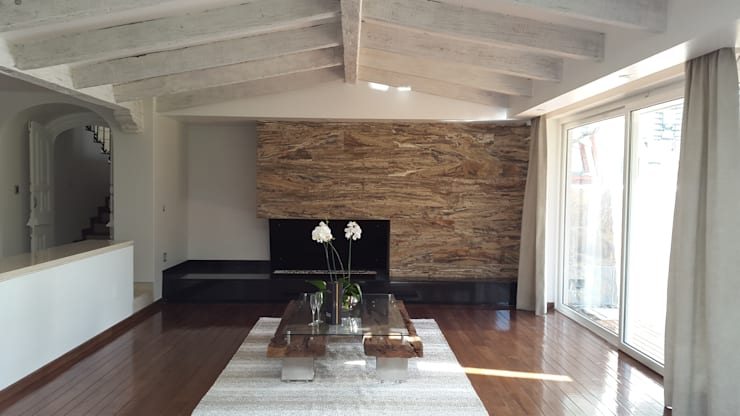 InteriorEs Silvana McColgan: modern tarz Oturma Odası