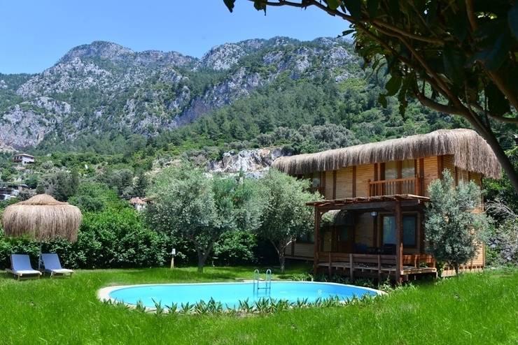 Pure Life Organic Villa – Organic Villa Genel görünüm:  tarz Oteller, Kırsal/Country