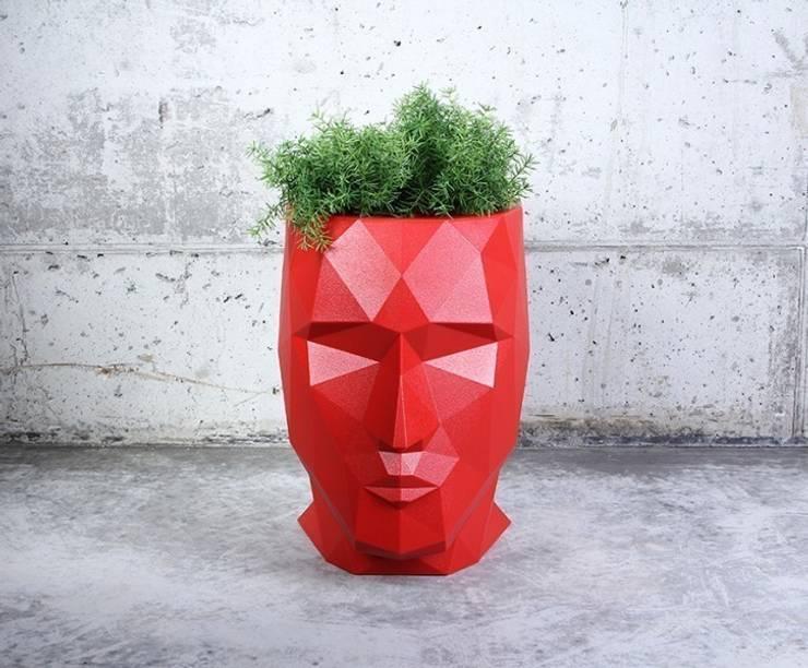Donica ADAN: styl , w kategorii Zieleń wewnątrz zaprojektowany przez Hydroponika - Wnętrz i zieleń,
