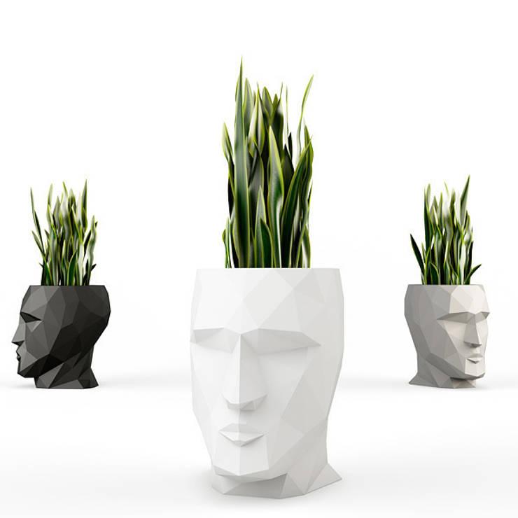 Donice ADAN by Teres Sapey: styl , w kategorii Ogród zaprojektowany przez Hydroponika - Wnętrz i zieleń,