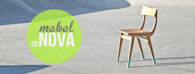 Pierwszy<3: styl , w kategorii Jadalnia zaprojektowany przez mebel odNOVA