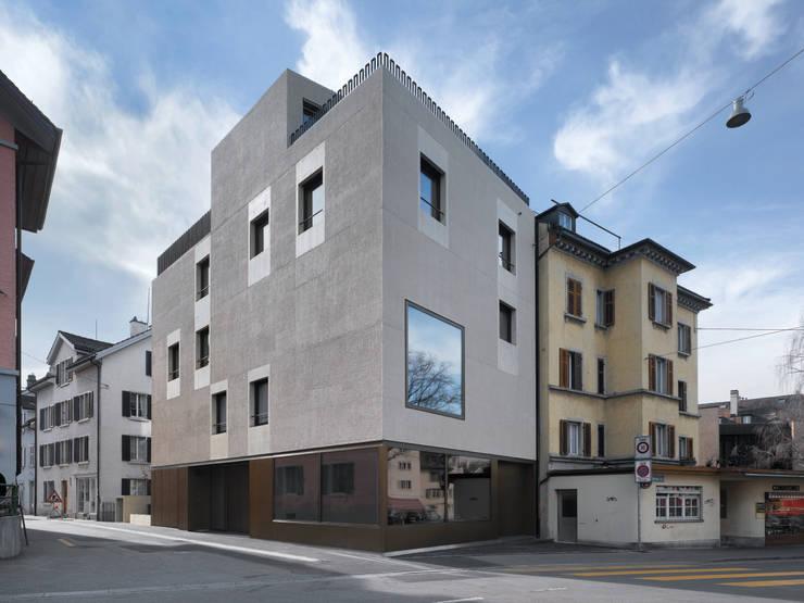 Stadthaus Englischviertelstrasse:  Häuser von Bob Gysin + Partner BGP